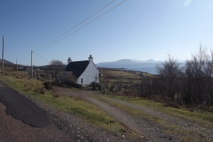 Traditional house in Coigach