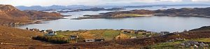 Altandhu - where the Smokehouse sits looking out over the Summer Isles