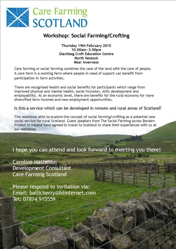 Carefarm flyer