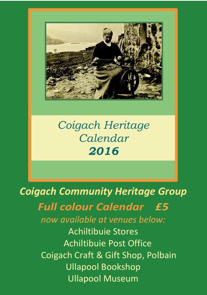 CHG Calendar poster