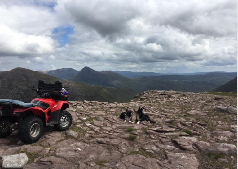 quad on Ben More